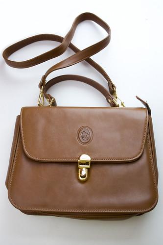 ec7754b873 Carla Sade Leather Saddle Bag c.1990s - a photo on Flickriver