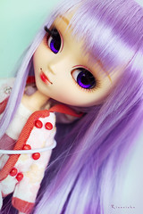 Again (Rinoninha) Tags: pink cute doll turquoise rosa chips wig kawaii cancan pullip mueca coolcat peluca turquesa obitsu rewigged rechipped alicedujardin