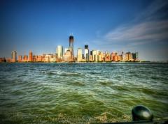 Lower Manhattan (Nick Stewart2) Tags: nyc usa newyork america skyscraper newjersey jerseycity worldtradecenter batterypark hudsonriver wtc hdr lowermanhattan hudsoncounty thebigapple thewaterfront