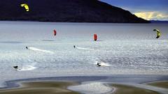Freedom (Explored) (MarculescuEugenIancuD5200Alaska) Tags: alaska kiteboarding kitesurfing anchorage extremesports outstandingromanianphotographers