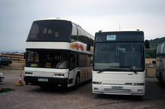 L43 CNY (markkirk85) Tags: new travel bus buses volvo coach cny unknown operator coaches excalibur llantwit plaxton pji b10m bebb 6391 81993 l43 fardre l43cny pji6391