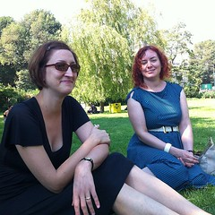Ladies who lunch in the park