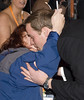 Prince William receives a kiss from a fan in a wheelchair. The Orange British Academy Film Awards (BAFTA Awards) held at the Royal Opera House - Arrivals. London, England