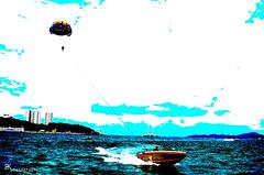 for the love of blue (Яahul...) Tags: ocean cruise blue sky love tourism beach sports water coral clouds speed thailand island boat flying nikon asia speedboat july gimp sprinkles sprinkler ko rush thai gliding jpeg crush adrenaline th pattaya 2012 parachute rahul larn coralisland kolarn suvarnabhumi d5100 parachutegliding nikond5100 flickrandroidapp:filter=none lordificated яahul