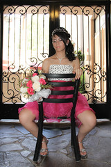 Quinceanera session-22 (Fearless Wedding Photography) Tags: birthday pink roof girl sunglasses lady youth ramp chica dress balcony young 15 teen hispanic latina diva quinceanera