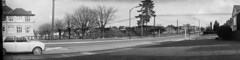 1966-11 100 block of 16th Ave (H H Johnston 2) Tags: camera bw panorama canada vancouver cityscape bc angle wide wideangle columbia panoramic valley soviet british 1960s lower fraser russian 31 sixties mainland ft2 kmz nineteensixties 1x3 hhjohnston haroldhjohnston