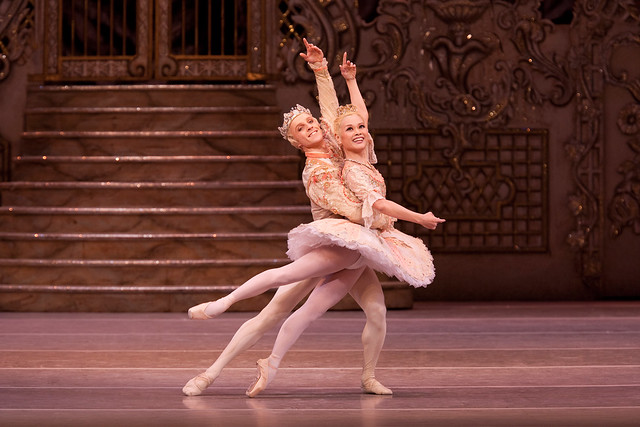 "Steven McRae as The Prince and Miyako Yoshida as The Sugar Plum Fairy in Peter Wright's production of The Nutcracker. The Royal Ballet 2010/11. <a href=""http://www.roh.org.uk/productions/the-nutcracker-by-peter-wright"" rel=""nofollow"">www.roh.org.uk/productions/the-nutcracker-by-peter-wright</a>"