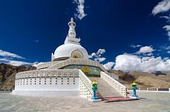 Shanti Stupa, Leh (Souvik_Prometure) Tags: india buddhist buddhism leh dalailama ladakh jammukashmir jammuandkashmir shantistupa abigfave flickrdiamond tokina1116mmf28 tokina1116mm nikond7000 souvikbhattacharya