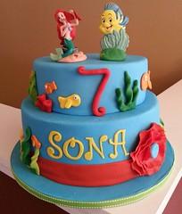 under the sea cake (ssmartycakes) Tags: birthday cake kids little mermaid underthesea flickrandroidapp:filter=none