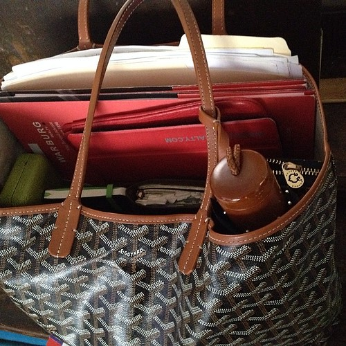 All loaded up for a #nycre afternoon. Fi by Nicole Beauchamp, on Flickr