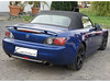 Honda S2000 Currus Akustik-Luxus Flexglas blau carbon SLR