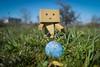 Easter hunt pt. 3 (siljevdm) Tags: blue sky green nature grass easter egg hunt danbo danboard danbo´sadventure