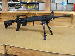 Office AR-15 (simonov) Tags: crane rifle ar15 lmt handguard buttstock dpms mesatactical magpul stagarms americasrifle alltheprettyrifles