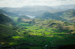 Thirlmere in distance (gms) Tags: mountain climb lakedistrict cumbria blencathra threlkeld