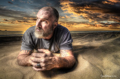 LIFESTYLE ON THE BEACH (Chris Hatounian Photography) Tags: ocean sunset beach clouds portraits advertising photography actors nikon famous wide scenic sunsets wideangle tokina zuma editorial nikkor ojai hdr ventura rendering zumabeach photomatix nikonusa sb900 d7000 atx116prodx removedfromstrobistpool nikond7000 incompletestrobistinfo seerule2