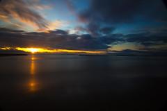 Rising sun (Dario Manuppella) Tags: sunset sea sunshine del sunrise san long exposure mare hoya ascoli sanbenedettodeltronto tronto benedetto bigstopper