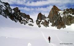 Day 1: Up the Fentre de Saleina. (Erik.G.) Tags: zermatt chamonix skitouring skitour hauteroute valsorey plateauducouloir