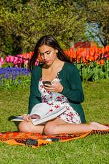 Tulip Festival girl (gdajewski) Tags: flowers portrait people ny girl tulips flash albany speedlight youngwoman tulipfestival washingtonpark sb900 nikkor70200mmf28gafsvr nikond7000 dajewski gdajewski