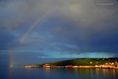 (Zak355) Tags: weather scotland rainbow scottish bute rothesay isleofbute