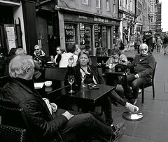 Relaxing on the Royal Mile (vmanseventy) Tags: blackandwhite scotland nikon edinburghcastle princesstreet royalmile mound highstreet ricohgr nationalgalleryofscotland rsa stgiles waverley decisivemoment ramsaygarden filmphotography nikonfm nikonf65 rosestreet georgeivbridge sirwalterscottmonument streetcandid 50mmlens edinburghinternationalfestival westprincesstreetgardens tripuk eastprincesstreetgardens peoplephotos playfairsteps lefteyed edinburghstreetphotography fujixpro1 moundsquare olympusbodycaplens fujix100s panasonic20mm17ii robertbmcneill ricohgrd1v panasoniclumixgm11232mmlens fuji27mmlens fuji18mmf2lens scottishstreetphotography