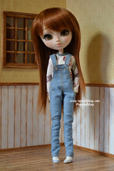 Sam (ronmielshop) Tags: set outfit doll tshirt clothes converse pullip diorama overall redhaired leekeworld leekewig obitsu27cm ronmiel poisongirldolls ronmielshop