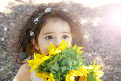 DSC_0024 - Version 3 (Ciara*) Tags: girl kid toddler smiles cutie niece sunflower