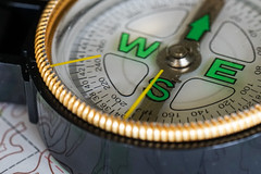 For FlickrFriday #Science (laura_rivera) Tags: macro map sony science 90mm a7 compass magnetism flickrfriday laurarivera