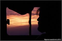 (gus polaco) Tags: sunset man window contraluz atardecer ventana perfil janela hombre rostro