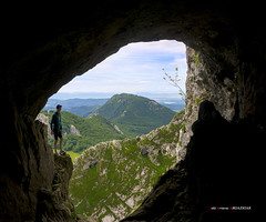 Anbotoko koba (Jabi Artaraz) Tags: jartaraz zb euskoflickr cueva kobazuloa anboto mikel mendia montaña caverna gerrikokobie túnelnatural jabiartaraz