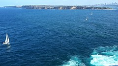 20160424_132448 Heading For Sydney. (Boat bloke) Tags: ocean blue sea water race coast harbor boat waterfront yacht offshore shoreline sydney samsung australia shore sydneyharbour yachtrace galaxys4
