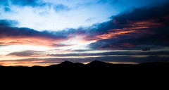 Beautiful sky going into Las Vegas (twelve_34) Tags: vegas sunset sky lasvegas nevada bluesky deathvalley nightsky pinksky i15