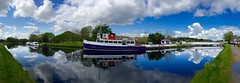 Caledonian Canal, Inverness (stuant63) Tags: reflection scotland boat canal inverness caledonian jacobitequeen midtyneferryno3