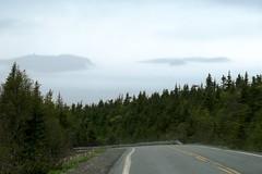 Sea Fog (deanspic) Tags: mist weather fog newfoundland coast hills summit spruce maritimes eastcoast capespear seafog borealforest g3x nfld2016
