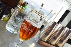 Brooklyn lager in a Carlsberg glass (Maria Eklind) Tags: beer bar se hotel dof sweden depthoffield sverige malm brooklynlager consert hotell skybar congresscenter clarionhotel skneln malmlive clarionmalmlive