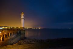 Newhaven Harbour Lighthouse Edinburgh side (iDvL) Tags: trip lighthouse night photography scotland edinburgh harbour best newhave