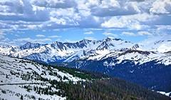 Springtime in Rocky Mountain National Park, Colorado (Gail K E) Tags: usa colorado scenic snowcapped rockymountains rmnp rockymountainnationalpark continentaldivide snowymountains nikond7000