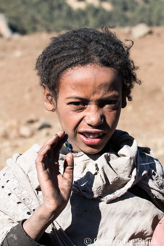 Child in southern Ethiopian