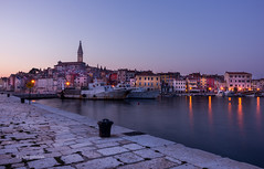 Rovinj harbour (pietkagab) Tags: longexposure trip travel sunset tourism photography evening twilight europe pentax sightseeing croatia oldtown rovinj istria istra pentaxk5ii pietkagab piotrgaborek