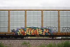 Boner (quiet-silence) Tags: railroad art train graffiti railcar boner bone graff freight csx autorack fr8 cttx692342