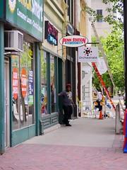 Main Street (Travis Estell) Tags: ohio retail mainstreet downtown cincinnati cbd storefronts pennstation centralbusinessdistrict urbanretail downtowncincinnati orchestrate checksmart urbanstorefronts mainstreetcincy