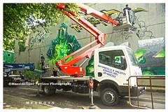 6871 (Massimiliano Fattizzo p.) Tags: street blackandwhite italy streetart milan colors graffiti colours milano colori