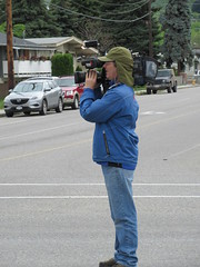 Filming the parade (jamica1) Tags: canada bc okanagan may columbia days parade british kelowna rutland cameraman videographer
