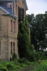 Fort Snelling Upper Post (schwerdf) Tags: abandonedbuildings fortsnelling fortsnellingupperpost minnesota vines