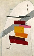 Lissitzky, El (1890-1941) - 1919-20c. Untitled (Peggy Guggenheim Collection, Venice, Italy) (RasMarley) Tags: painter jewish guggenheim 1919 1910s russian 20thcentury untitled constructivism lissitzky suprematism ellissitzky absbract geometricabstraction
