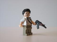 Nathan Drake 3 (bogey175) Tags: lego minifig uncharted nathandrake