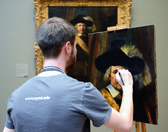 Learning From Rembrandt (Joe Josephs: 2,600,180 views - thank you) Tags: rome art greece scuplture met ancientgreece metmuseum ancientrome nikond800 zeissdistagont35mmf20zf2 joejosephsphotography copyrightjoejosephs2012