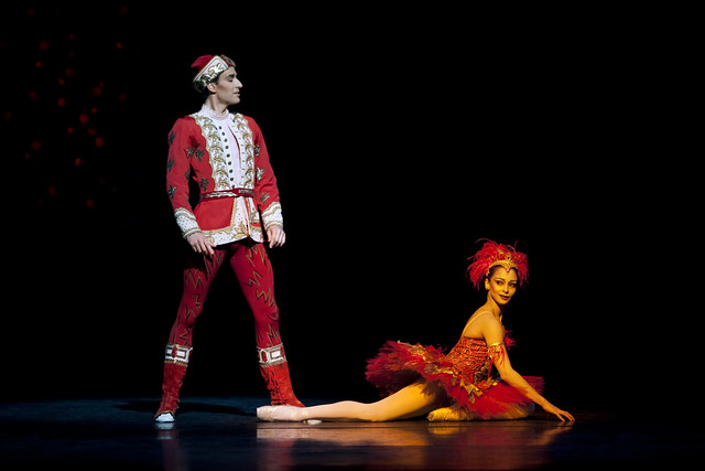 Valeri Hristov  as Ivan Tsarevich and Roberta Marquez in The Firebird © Johan Persson/ROH 2009
