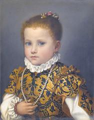 G B Moroni - Girl from the family Redetti (petrus.agricola) Tags: famiglia della bergamo galleria carrara giovanni moroni bambina battista dellaccademia redetti