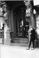 14th Street, Manhattan, NYC March 2012 (SplittingImages) Tags: street leica nyc newyorkcity blackandwhite newyork black art blancoynegro film blanco monochrome analog 35mm 50mm blackwhite noir noiretblanc manhattan negro streetphotography naturallight rangefinder summicron noctilux analogue m3 schwarzweiss manualfocus schwarz biancoenero leitz blackwhitephotos