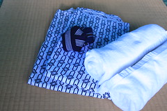 yukata and towels are provided